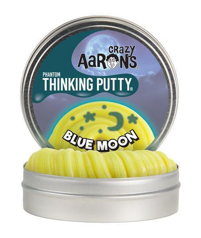 Blue Moon- Phantom- Crazy Aaron's Thinking Putty