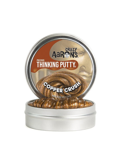 Copper Crush Precious Metals Thinking Putty