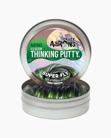 "2"" Super Fly- Super Illusions- Crazy Aaron's Thinking Putty, Mini Tins"