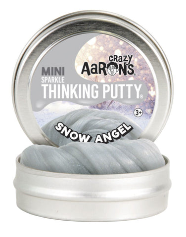 Snow Angel mini tins limited edition- Crazy Aaron's Thinking putty- holidays 2018