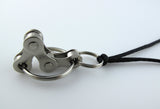 Bike Chain Fidget Necklace