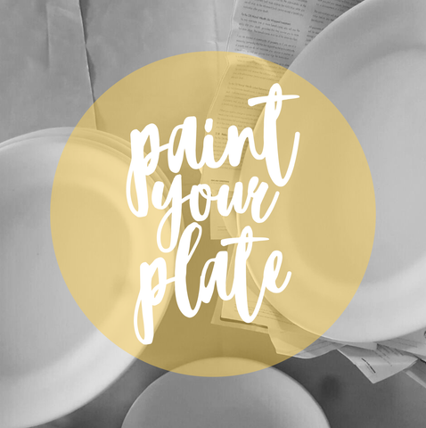 Paint your Plate Workshop