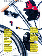 Topeak's AeroWedge Pack DX featured in Triathlete