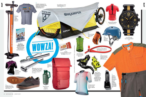 The Topeak Bikamper to be shown in the August issue of Bicycling Magazine!