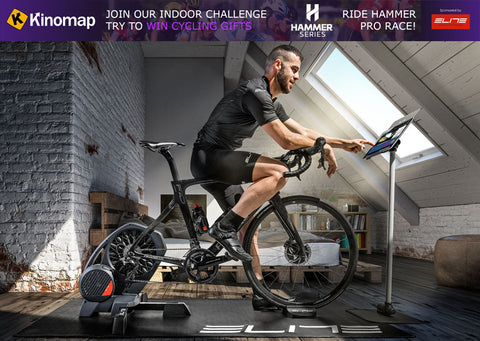 Win an Elite Direto trainer on Kinomap!