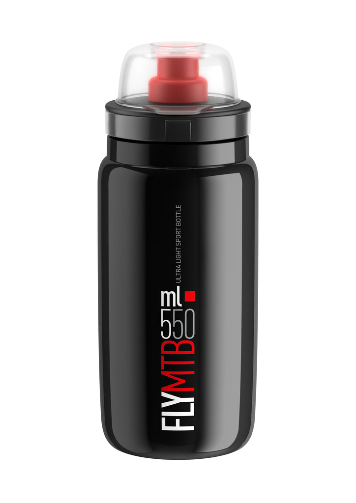 FLY MTB Black Red logo 550 ml