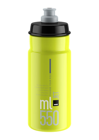 JET YELLOW FLUO black logo 550 ml