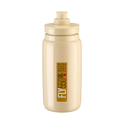 FLY BEIGE brown logo 550 ml