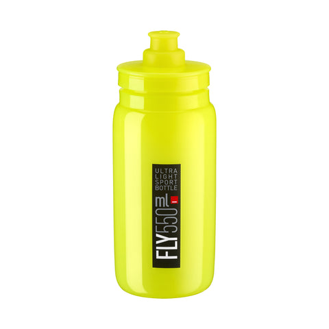FLY YELLOW FLUO black logo 550 ml
