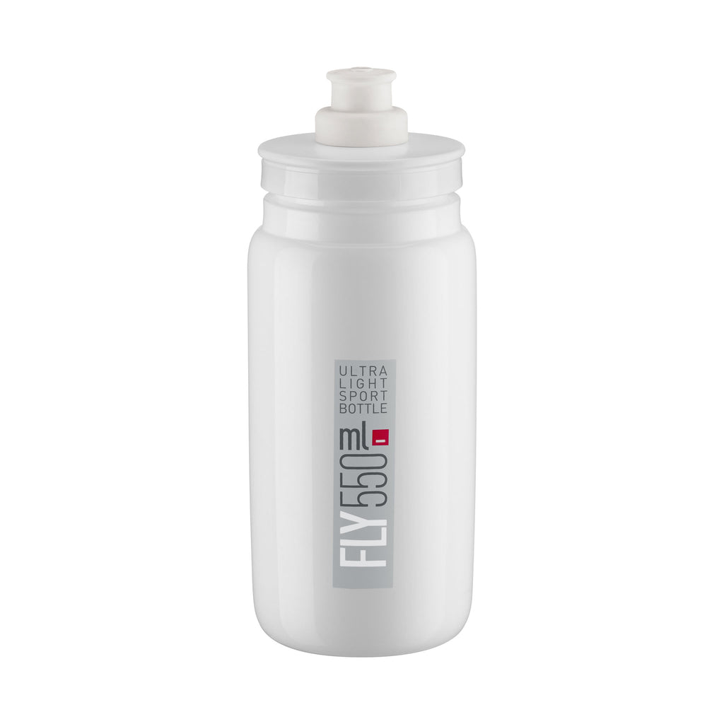 FLY WHITE grey logo 550 ml