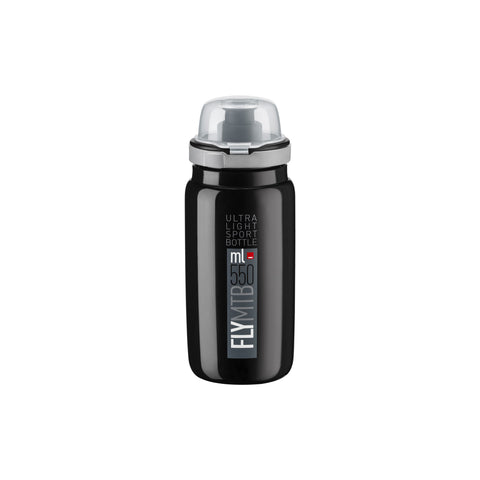 FLY MTB BLACK grey logo 550 ml