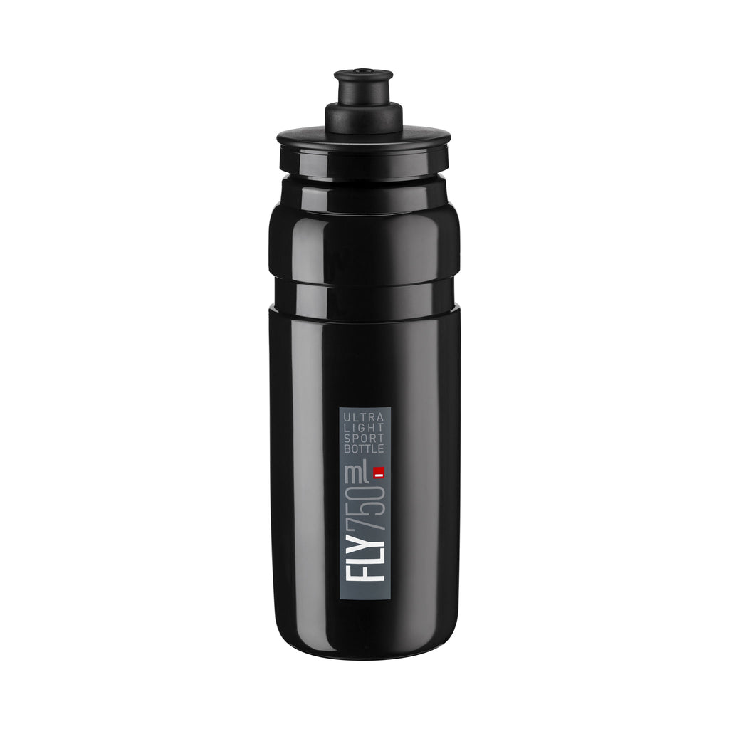 FLY BLACK grey logo 750 ml