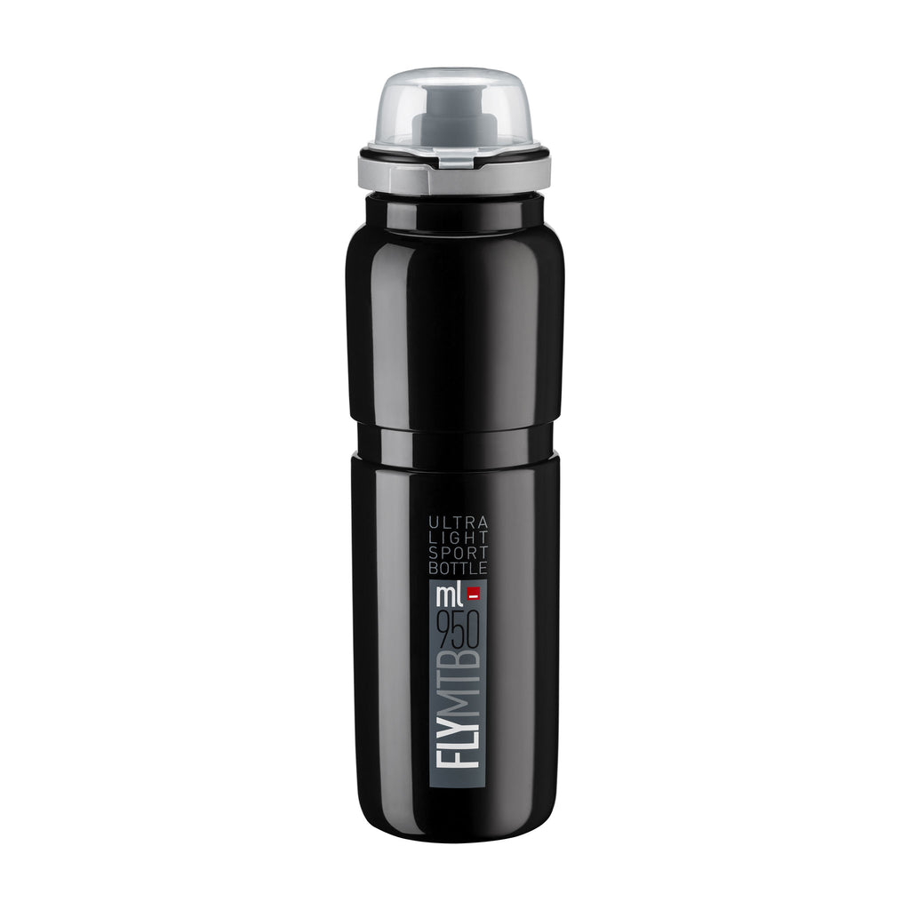 FLY MTB BLACK grey logo 950 ml