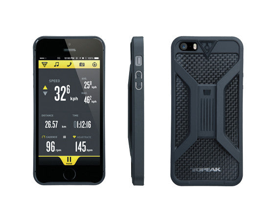 RIDECASE FOR IPHONE 5, BLACK (TT9833B)