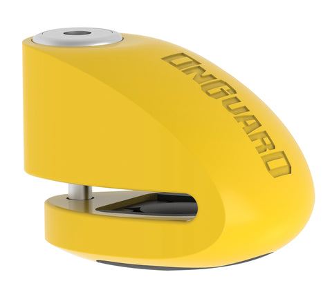 SMART ALARM DISC LOCK - YELLOW 10MM PIN (8263)