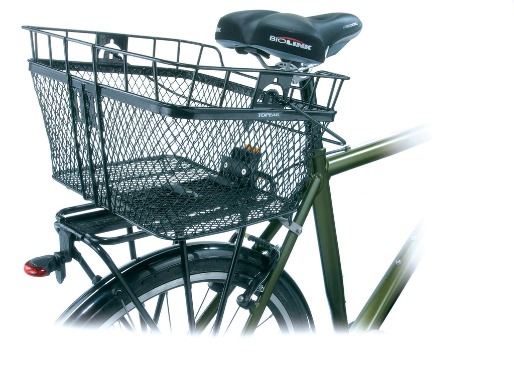 WIRE MTX REAR BASKET, BLACK COLOR (TB2005)
