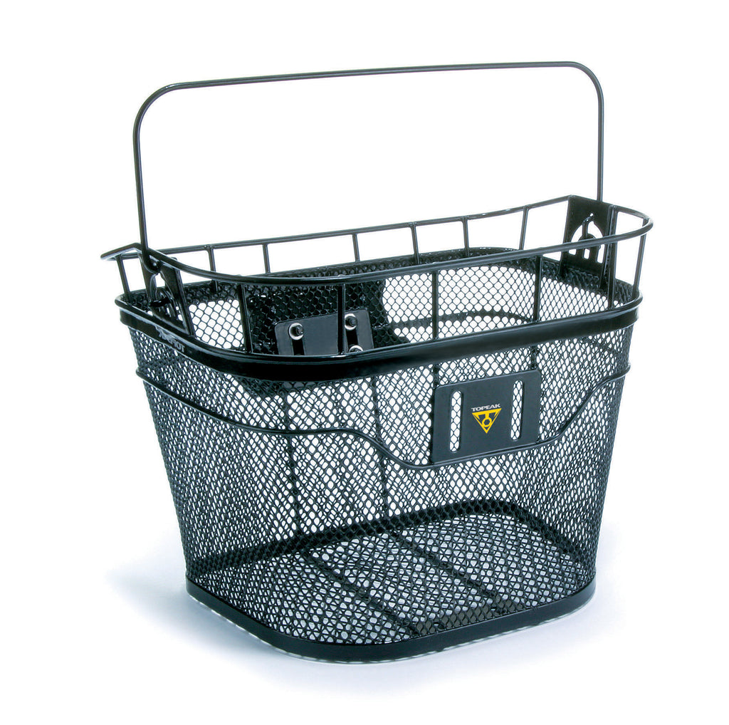 WIRE FRONT BASKET, BLACK  (TB2001)