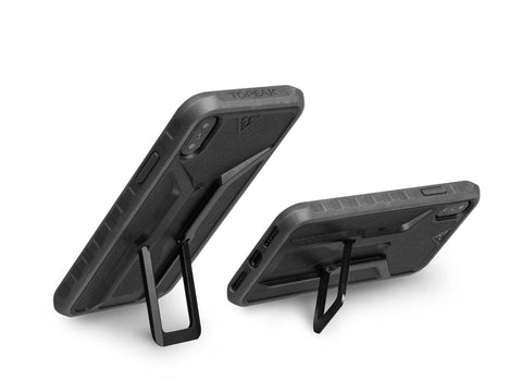 RideCase with Mount, for iPhone X / XS, Black/Gray (TT9855BG)