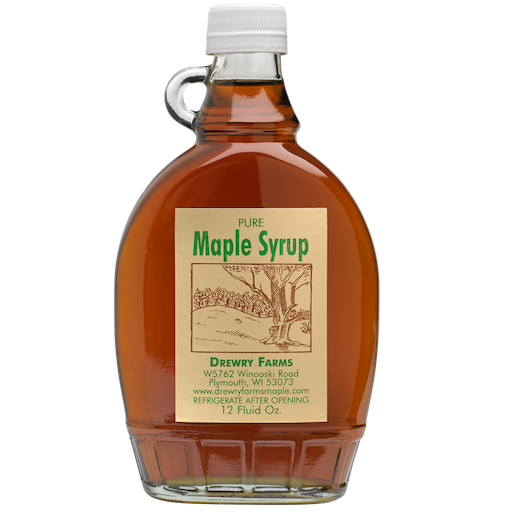 Drewry Farms Maple Syrup available at GiftBaux.com