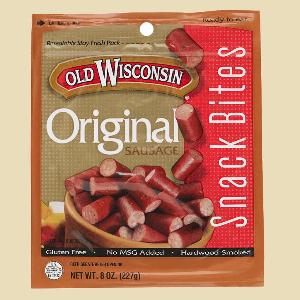 Old Wisconsin Sausage Snack Bites available at giftbaux.com