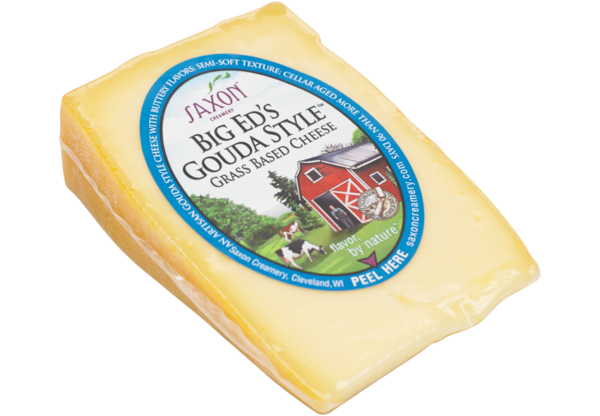 Saxon Creamery Big Ed's Gouda available at GiftBaux.com