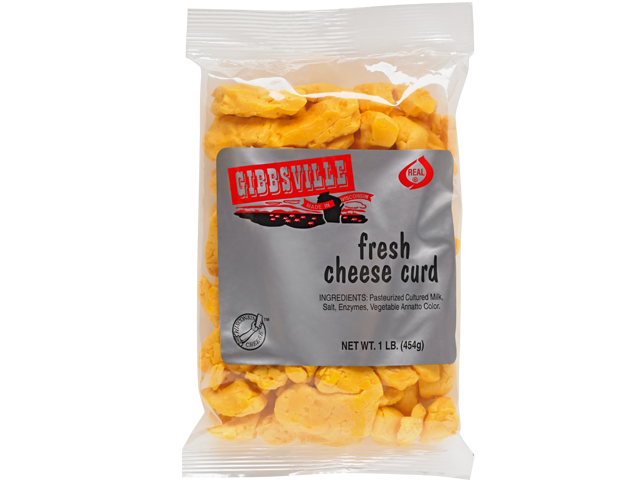 Gibbsville's amazing Cheese Curds available at GiftBaux.com