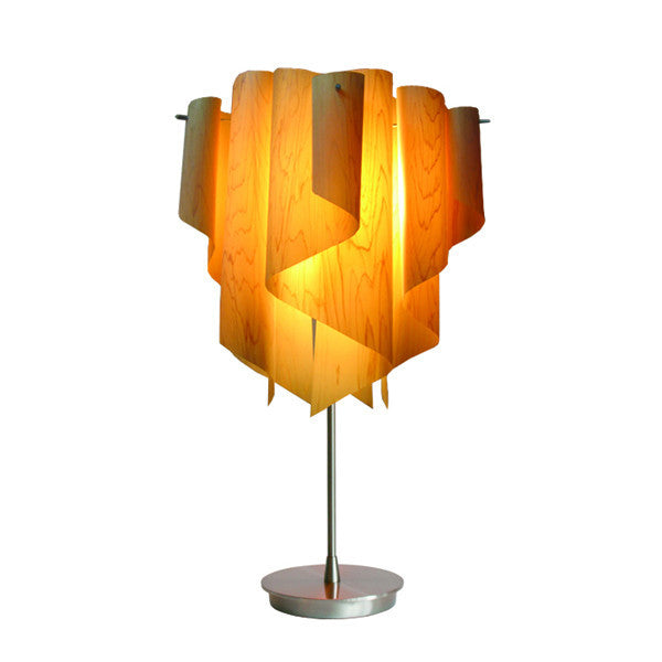Auro Table Lamp - Wood