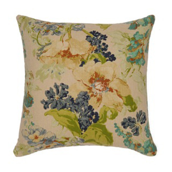 Babbling Brook Blue Cushion