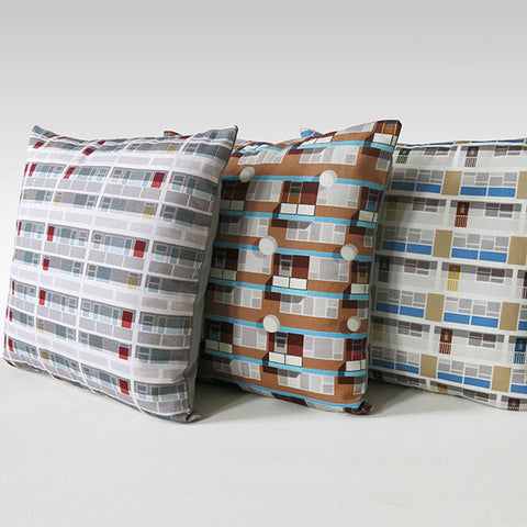 3 Pack Beautiful Estates Cushion Covers