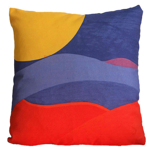 Along Umbrian Lines Cushion