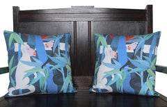 Bamboo Monkeys Cushion
