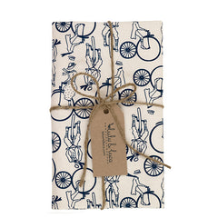 Bicycle Tea Towel In Red