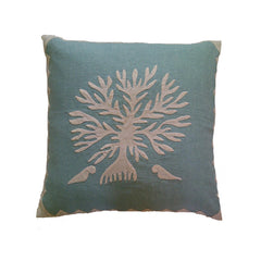 Applique 'Tree of Life' Cushion