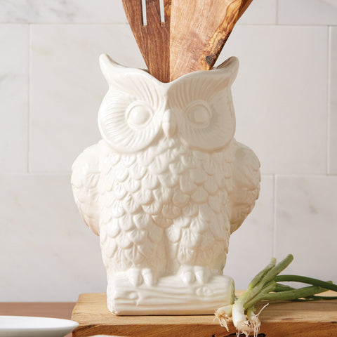 Owl Pitcher- Large