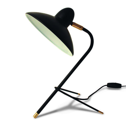 Arles Desk Lamp, Black
