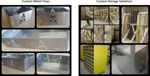 industrial solutions metal trays wood plastic storage solutions carts