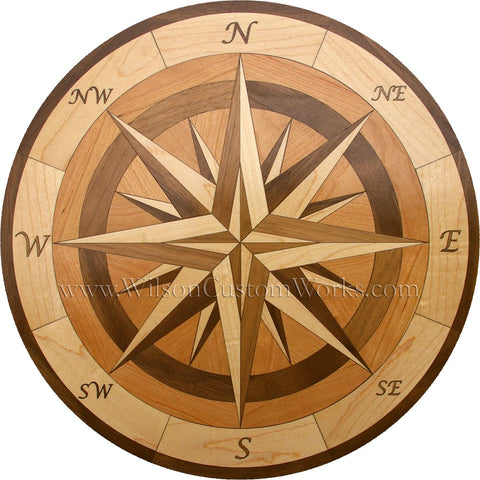 Compass Rose Wilson Custom Works