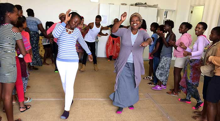 Adult Development Expressive Dance Education Township South Africa
