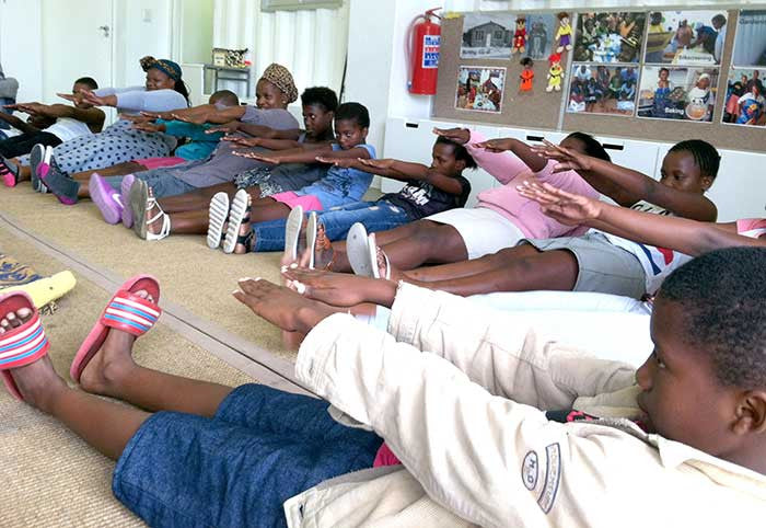 Dance Exercise Movement Youth Development Township South Africa