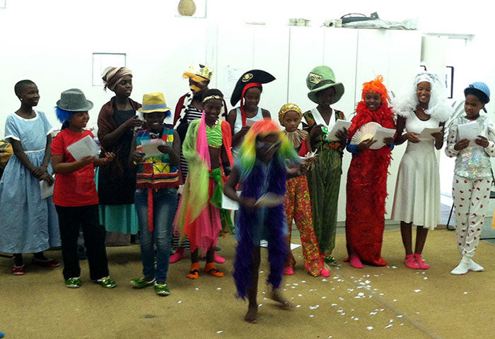 Wizard of Oz Youth Theater Group Performance Art Center Khayelitsha South Africa