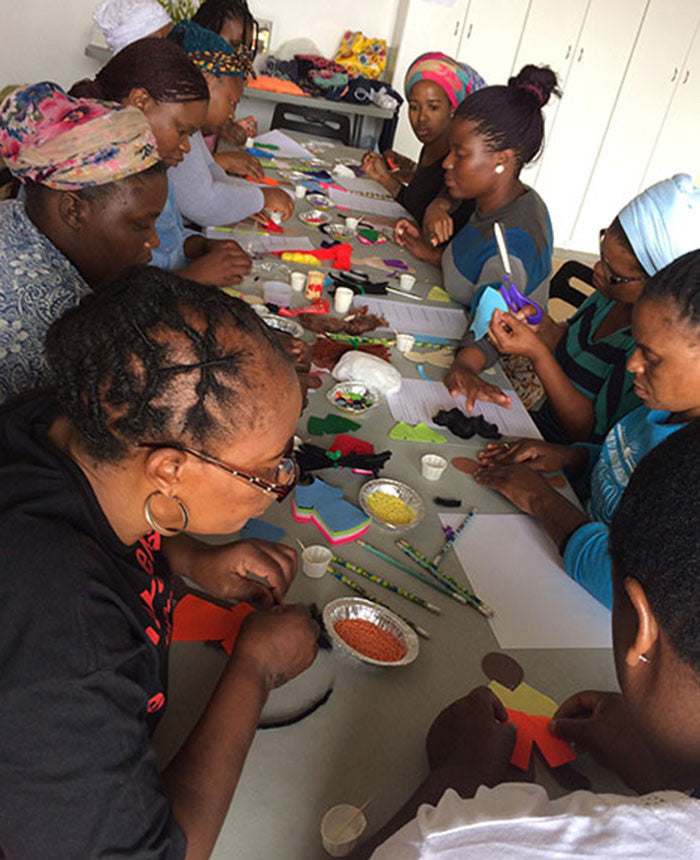 Persona Doll Making Workshop Art Education Khayelitsha South Africa
