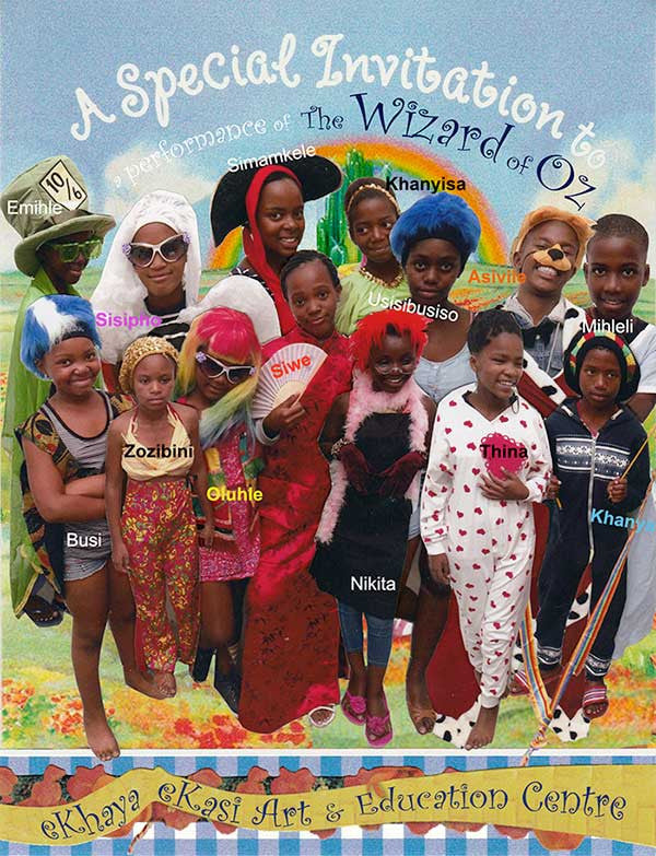 Wizard of Oz-Khayelitsha-eKhaya eKasi-ArtAidsArt-Childrens Theatre Education