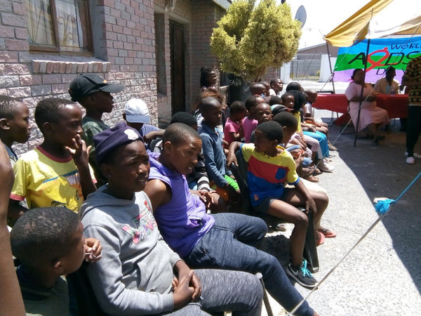 World Aids Day event at eKhaya eKasi Centre, Dec 1, 2018, Khayelitsha, Cape Town