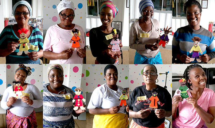 Persona Doll Workshop Adult Art Education South Africa Township
