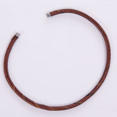 Thin Copper-Colored Bangle