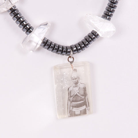 African Tribesperson Necklace