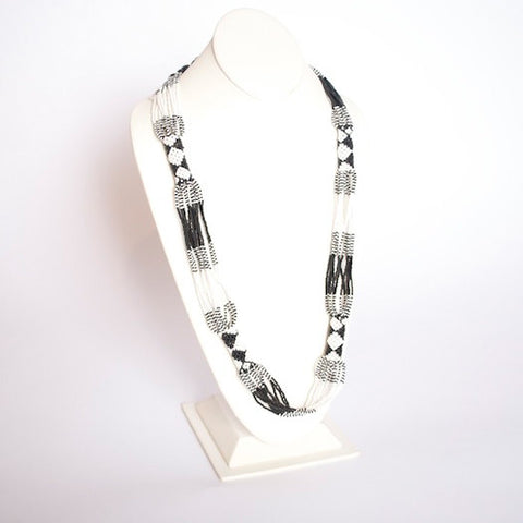 Multistrand Zulu Necklace