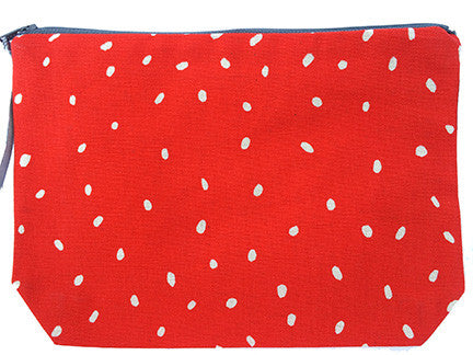 Pouch Purse - African Proverb - Children - Red