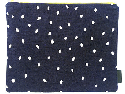 Pouch Purse - African Proverb - Children - Navy