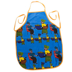 handmade abundant harvest apron from south africa